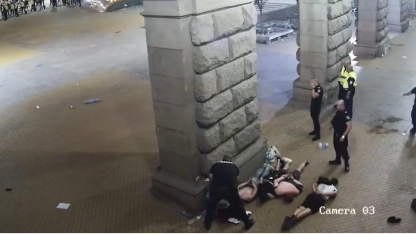 Кадри протести