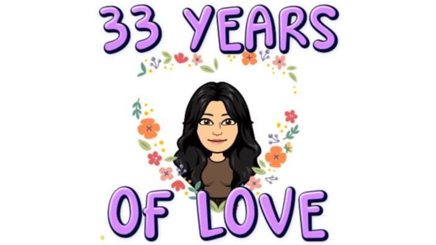 33 years of love